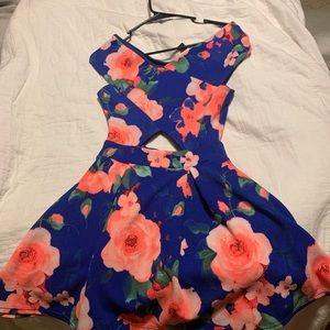 Windsor floral party dress